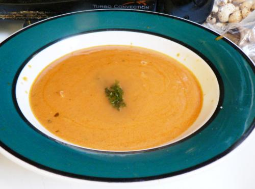 Chilled Cantaloupe Soup picture