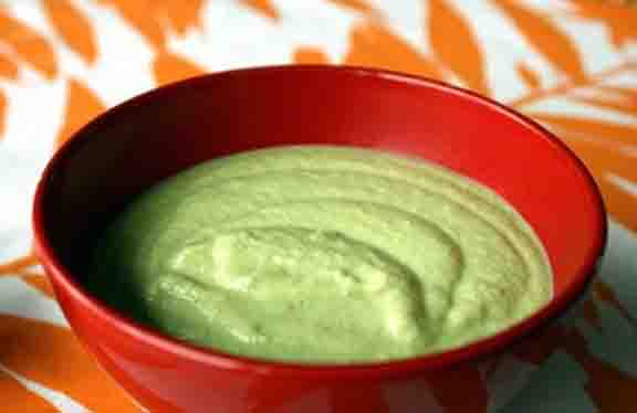 Chilled Cream Of Avocado Soup picture
