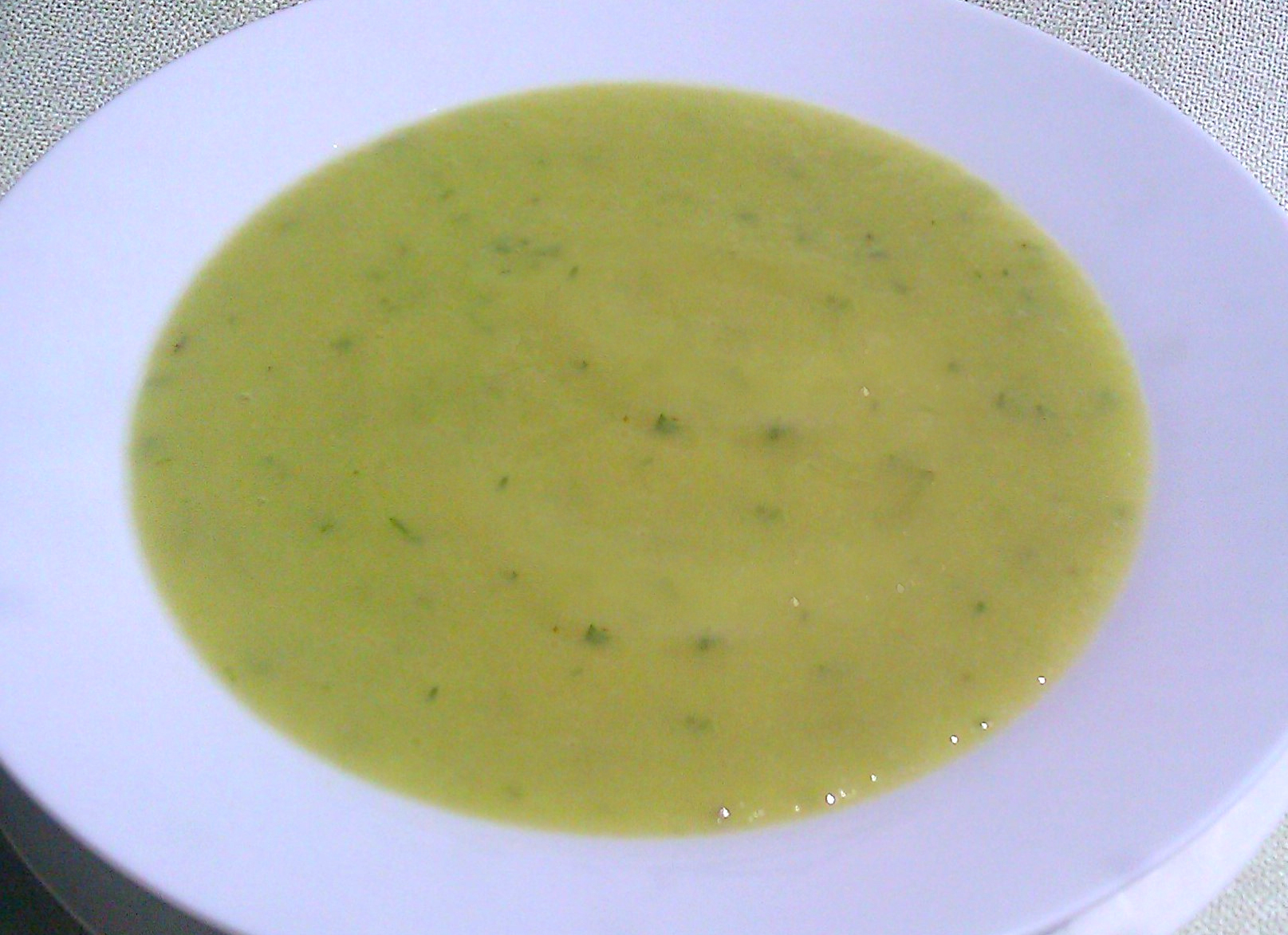Chilled Honeydew Soup picture
