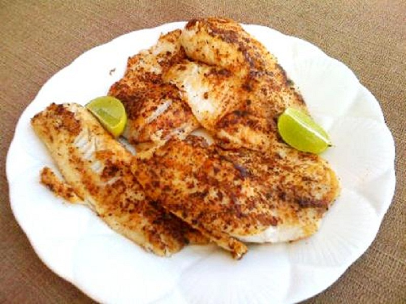 Chinese Blackened Fish picture