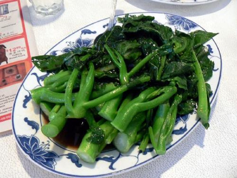 Chinese Broccoli with Oyster Sauce picture