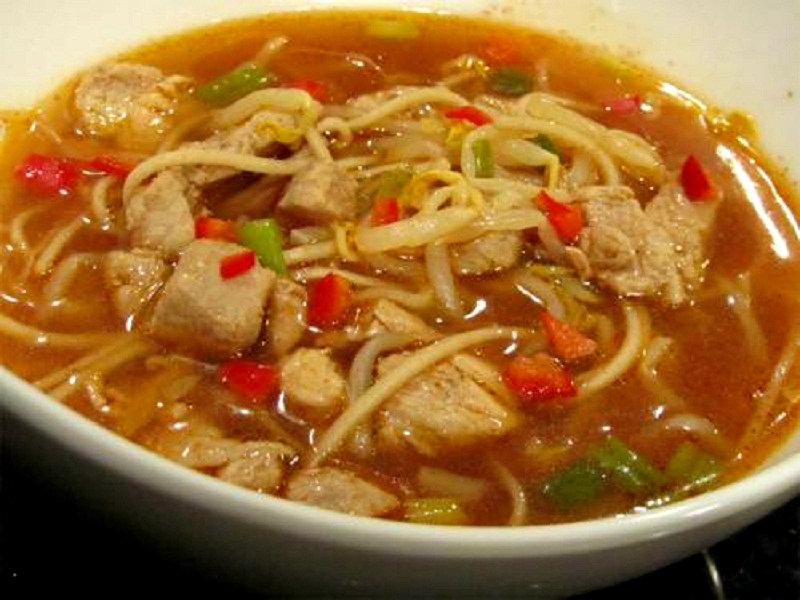 Chinese Noodle Soup picture