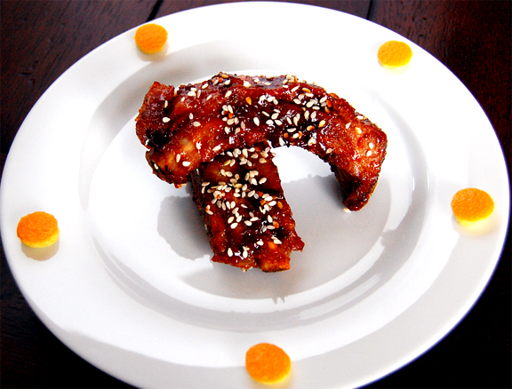 Chinese Sesame Pork Back Ribs picture
