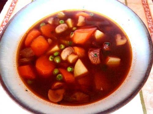 Chinese Vegetable Soup picture