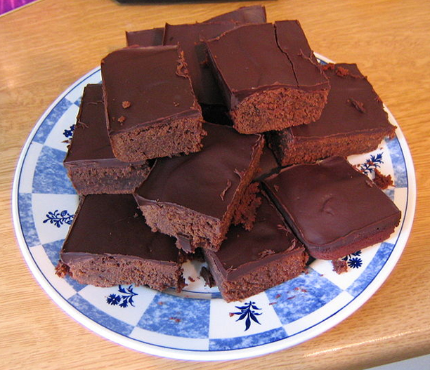 Choco Buttermilk Brownies picture