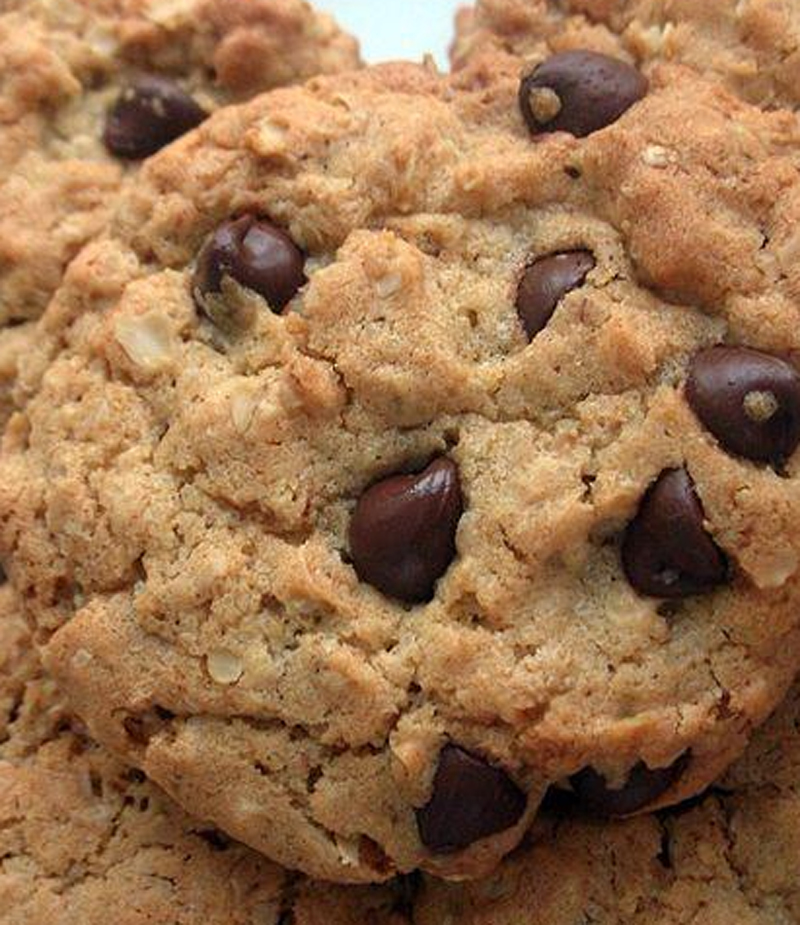 Choco Chip Oatmeal Cookies picture