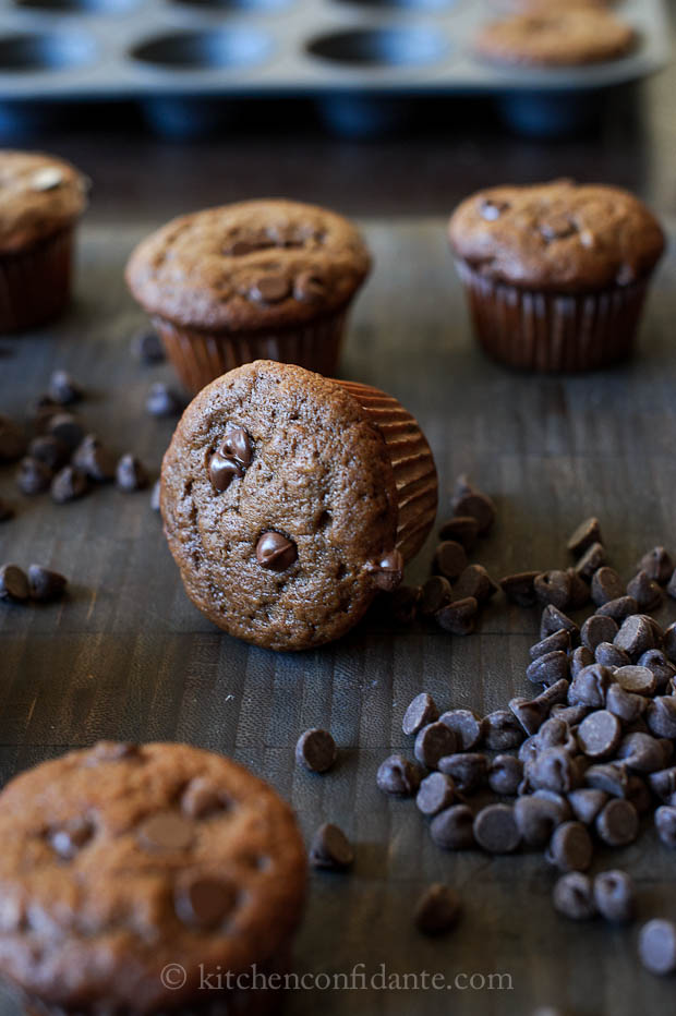 Simple Sundays | Chocolate Banana Muffins picture