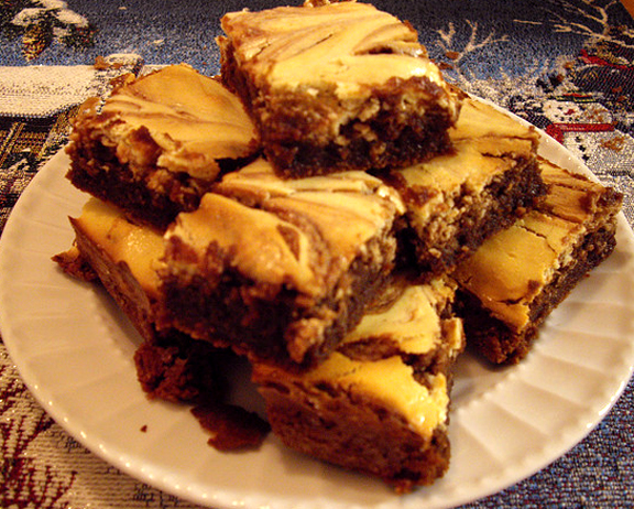 Chocolate-Cream Cheese Brownies  picture