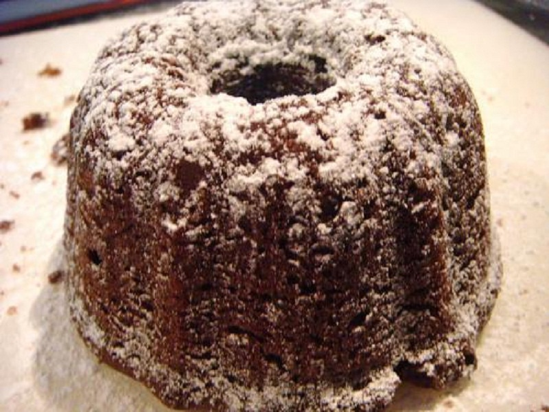 Chocolate Angel Food Cake picture