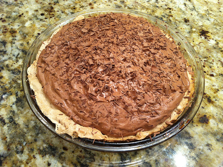Chocolate Angel Pie picture
