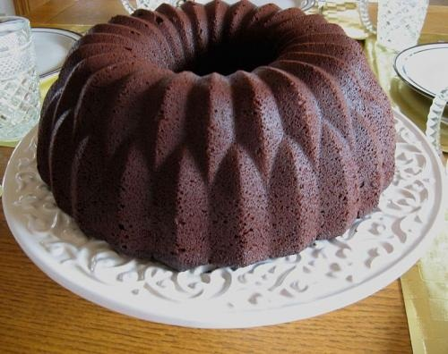 Chocolate Baron Bundt Cake picture