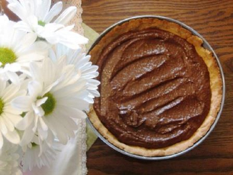 Chocolate Bavarian Pie picture