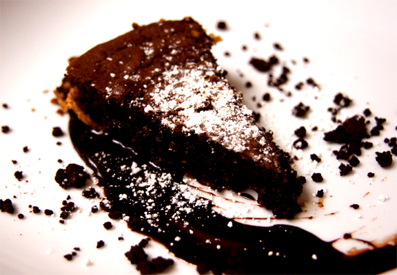 Chocolate Brownie Pie picture