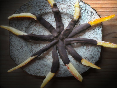 Chocolate Candied Orange Peel picture