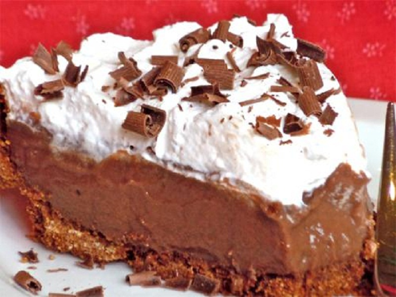 Chocolate Cheese Pie picture