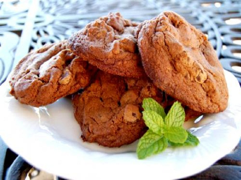 Chocolate Chip Cream Cookies picture