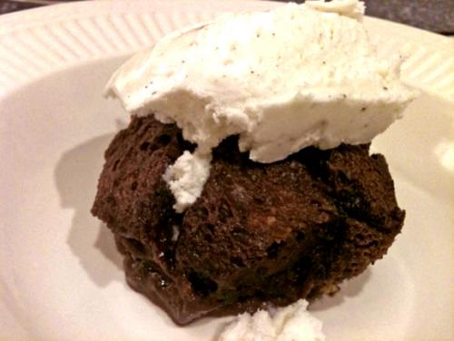 Chocolate Cream Bread Pudding picture