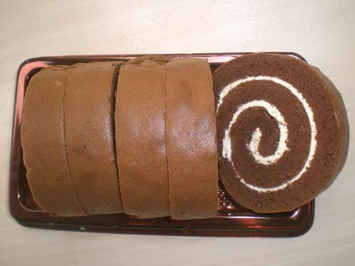 Chocolate Ice Cream Roll    picture