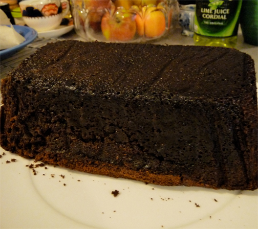 Chocolate Loaf Cake picture