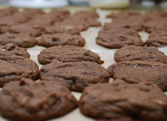 Chocolate Peanut Cookies picture
