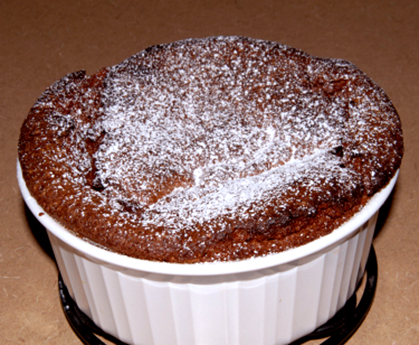 Chocolate Souffle picture
