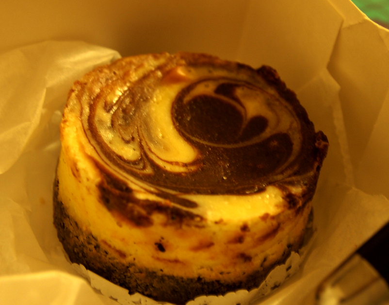 Chocolate Swirl Cheesecake picture