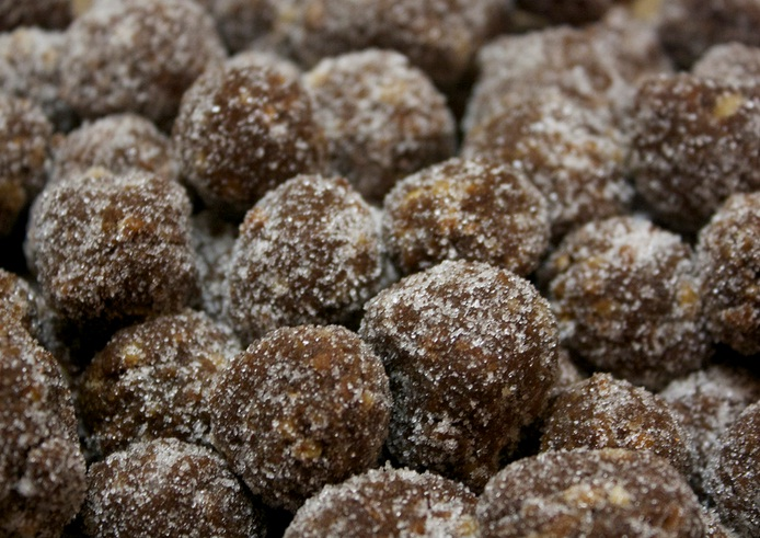 Chocolate Bourbon Balls picture