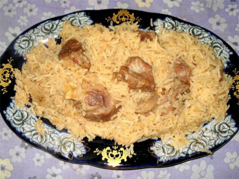 Chops with Pilaf picture