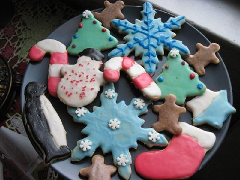 Christmas Card Cookies picture