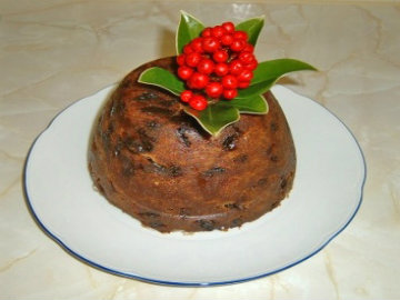 Christmas Carrot Pudding picture