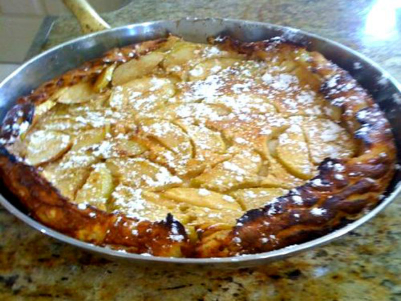German Apple Pancake picture