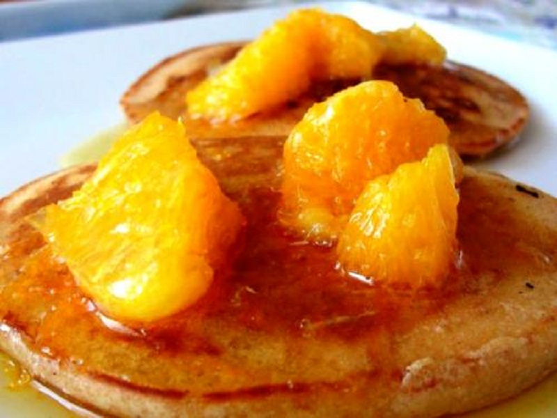 Cinnamon Orange Pancakes picture