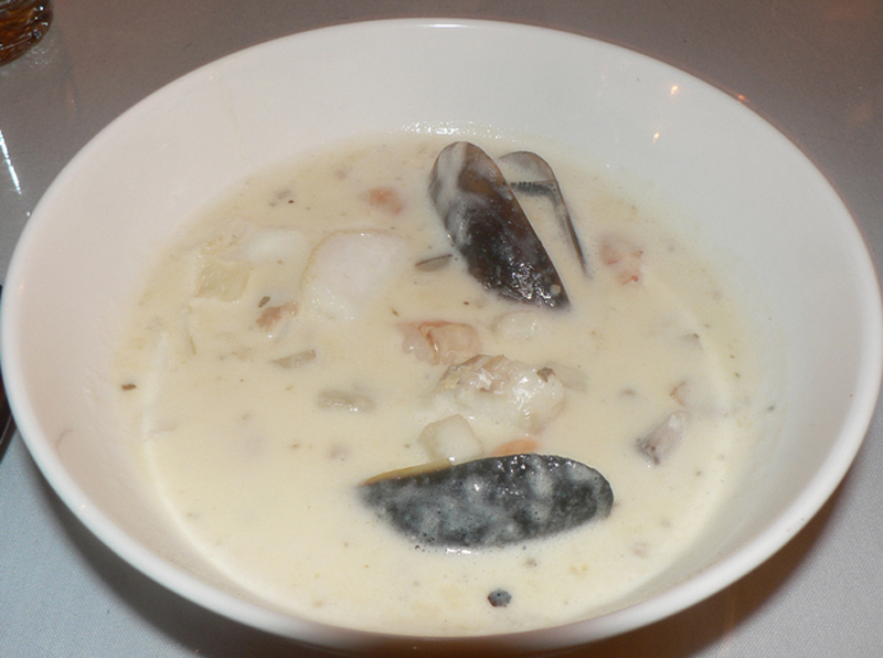 Clam and Mussel Chowder picture