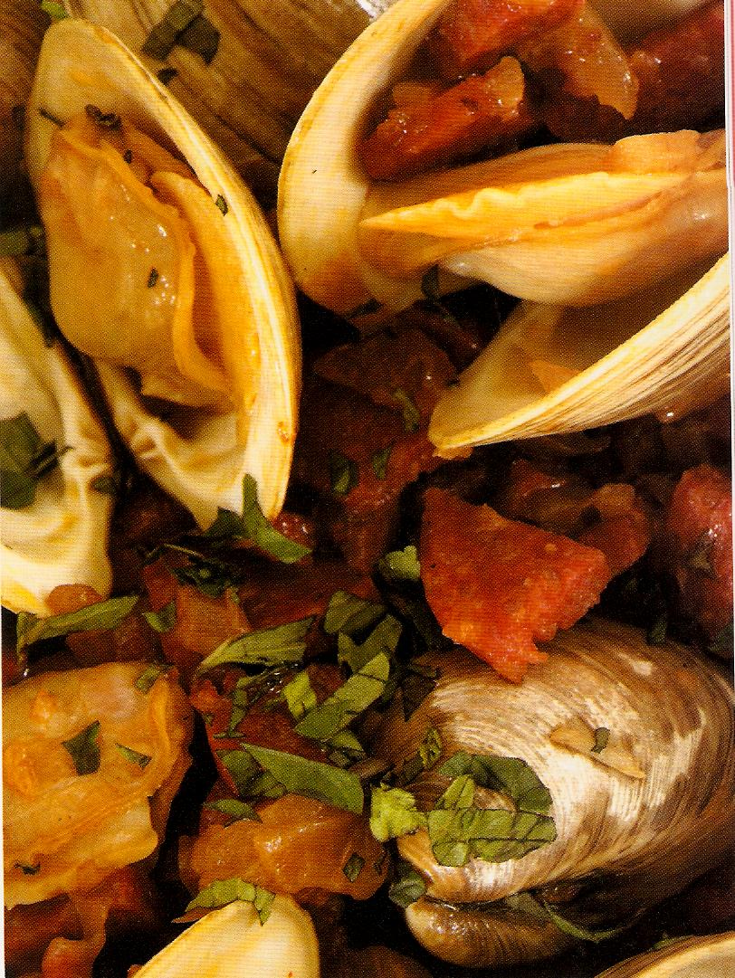 Clams with Chorizo picture