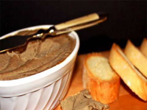 Simple Butter Chicken Liver Pate picture