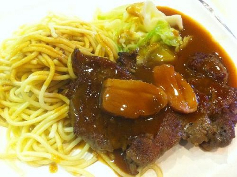 Company Pork Tehderloin and Noodles picture