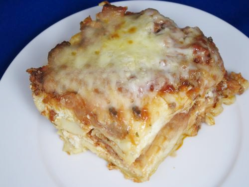 Convenient Vegetarian Lasagna picture