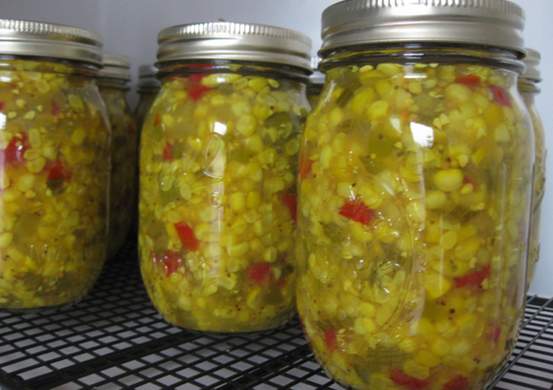 Corn Relish With White Vinegar picture