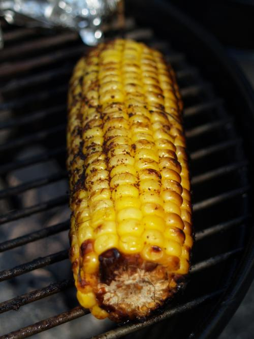 Roasted Corn On The Cob picture