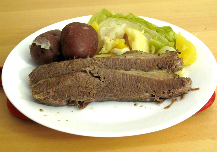 Country Style Corned Beef And Cabbage picture