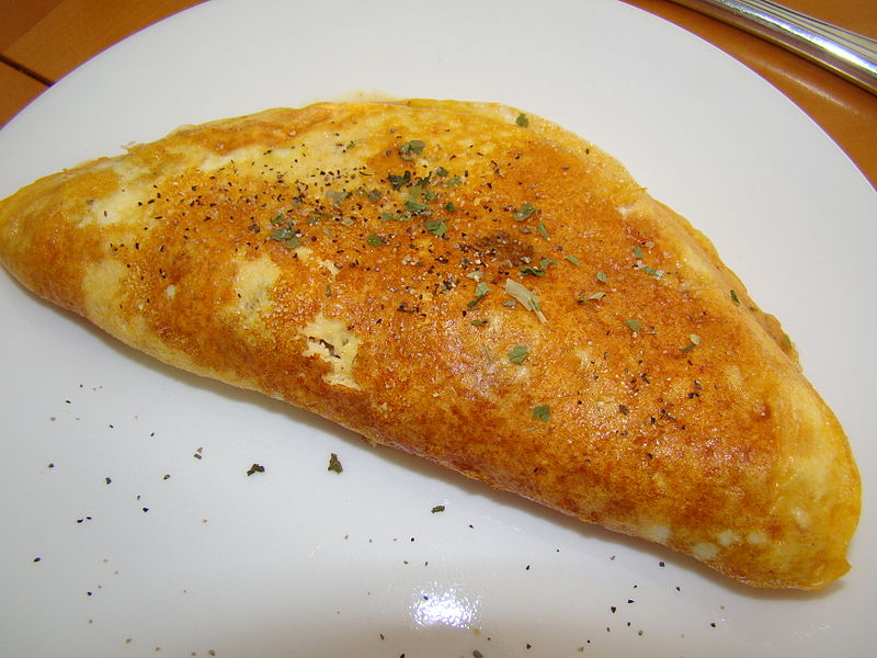 cottage cheese omelette - Spicy Cheese Omelette