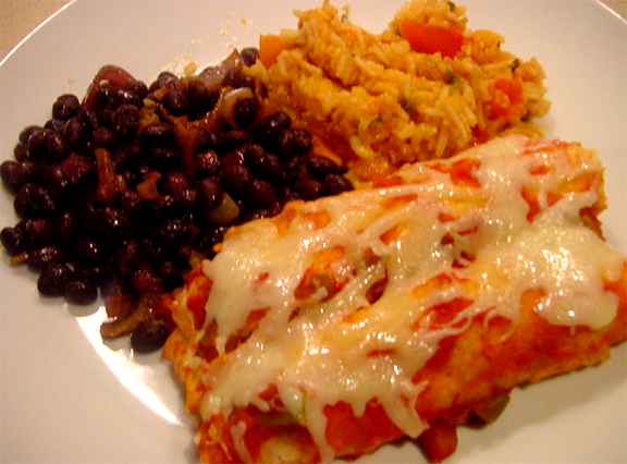 Crab Meat Enchiladas picture