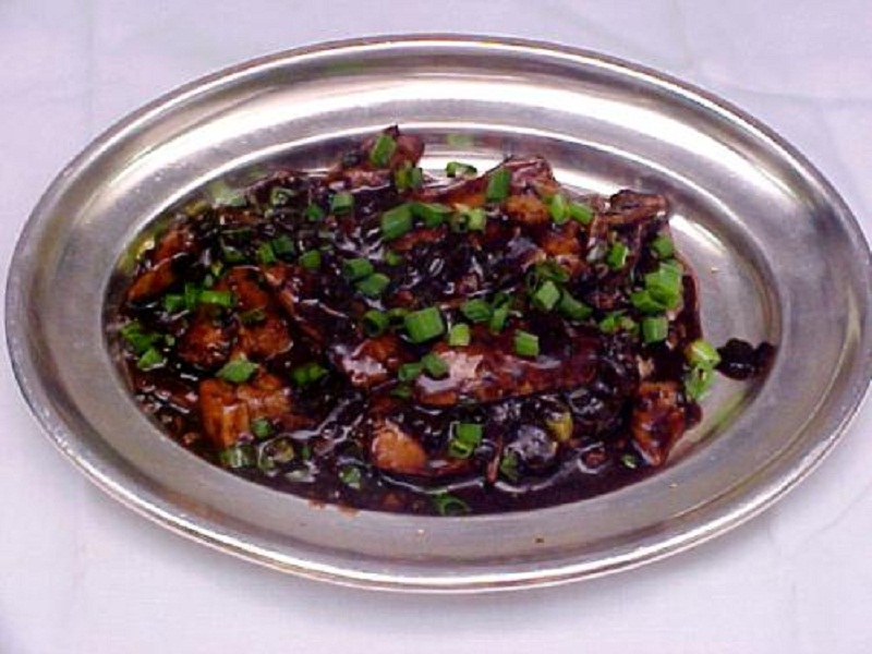 Crab In Black Bean Sauce picture