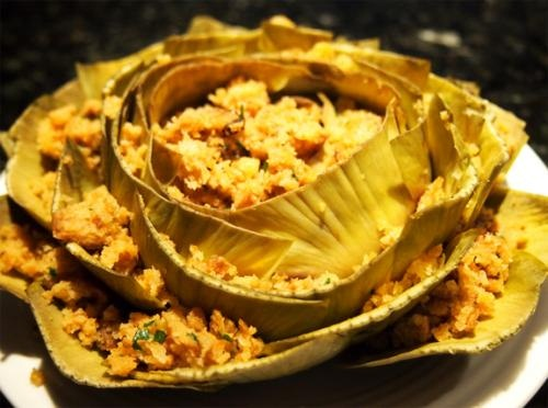 Crab Stuffed Artichokes picture