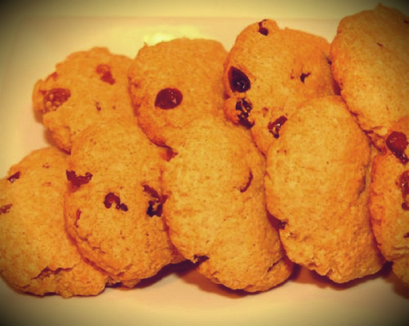 Cranberry Mounds cookies picture