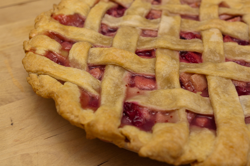 Cranberry Pear Pie picture