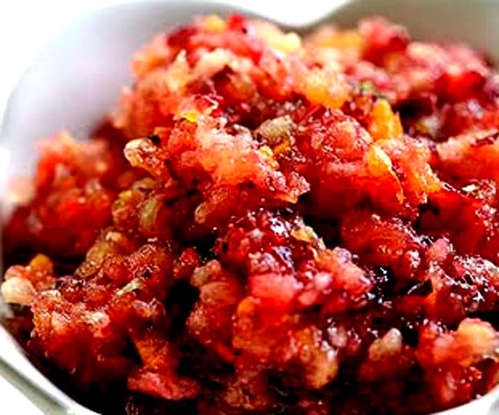 Raw Cranberry Relish picture