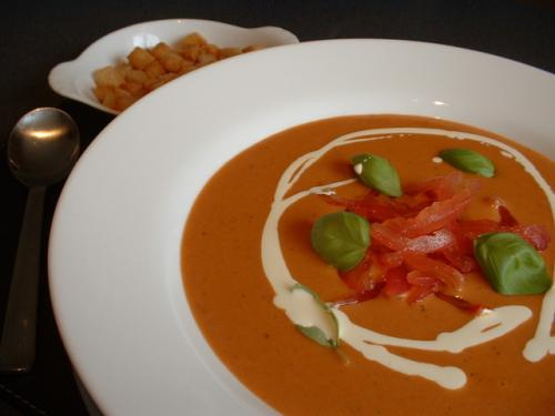 Cream Of Tomato Soup Using Milk picture