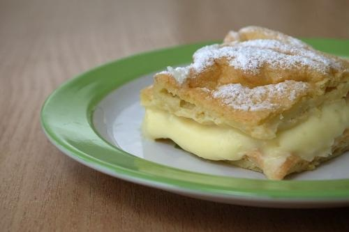 Cream Pie With Custard Filling picture