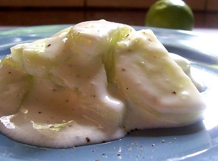 Creamed Cucumbers picture